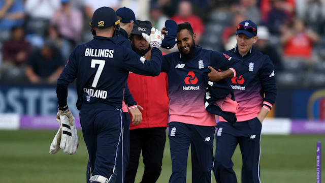 Rashid puts Ireland in tailspin as England take 1st ODI