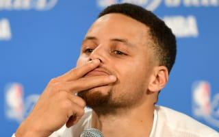 Warriors star Curry laughs at villains narrative