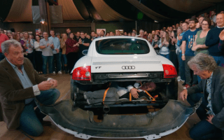 Clarkson causes controversy by showing how to smuggle someone through border control