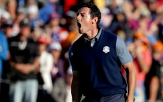 McIlroy: Europe probably the happier side