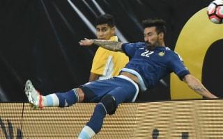 Lavezzi remains upbeat despite Copa-ending injury