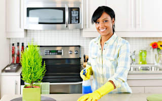 Five easy ways to leave your kitchen spotless