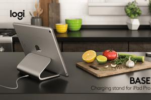Logitech Base: El stand de carga que estabas buscando para tu iPad Pro