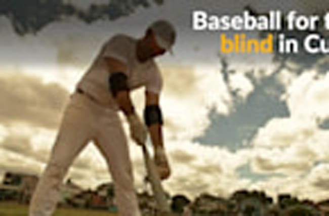 In Cuba, baseball for the blind hits a home run