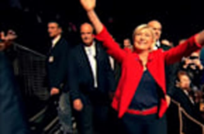 Le Pen steps aside as National Front leader