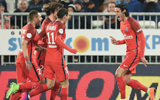 Cavani sets best PSG scoring run with stunning volley