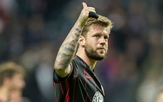 Frankfurt's Russ eyeing return after tumour disease all-clear