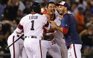 White Sox walk off again, Rangers win