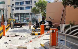 Woman dies in car park plunge