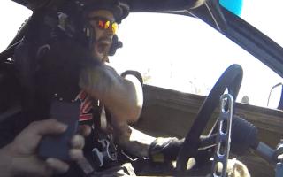 Taser test for pro-drifter