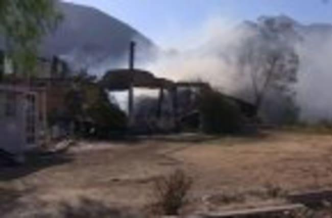 Erratic Winds Fan Fire Near Los Angeles