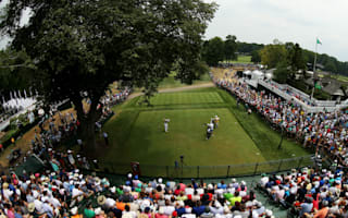 Storms force suspension at US PGA