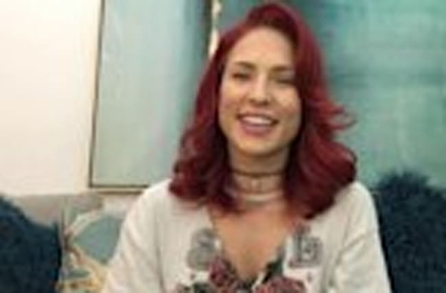 Sharna Burgess Returning to 'Dancing With the Stars' -- Watch Her Cute Video Announcement!
