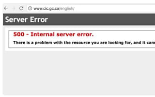 The Canadian immigration website crashed as the US election results rolled in