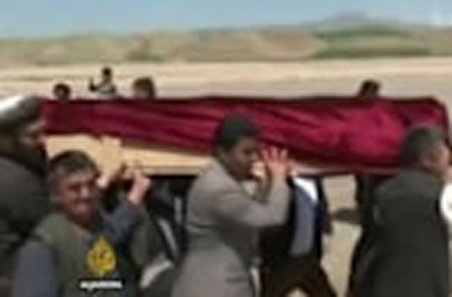 Afghanistan mourns after deadly Taliban attack on army base