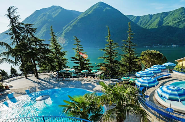 159 € – Suite im 4,5*-Resort am Luganer See, -40%