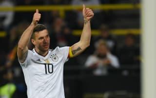 Fairytale Podolski script 'too cheesy' for Muller