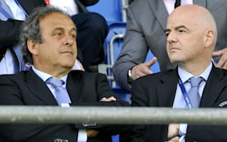 Infantino grateful to banned Platini