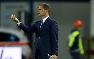 De Boer pleased with Inter progress in recent weeks
