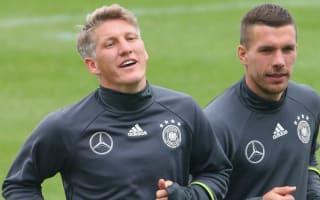 Germany announce Schweinsteiger, Podolski farewells