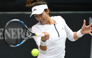 Muguruza reaches WTA Finals, retires hurt in Linz
