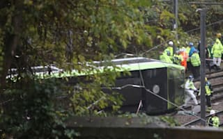 Five confirmed dead after rush-hour tram derails