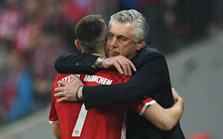 Ribery: Ancelotti is a great kisser!