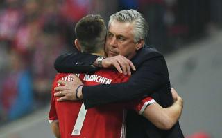 Ribery: Ancelotti is a great kisser!