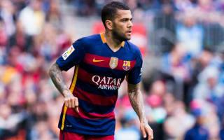 Alves jets into Turin for Juve medical