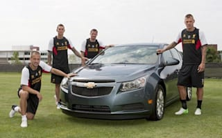 Liverpool FC gets Chevy sponsorship