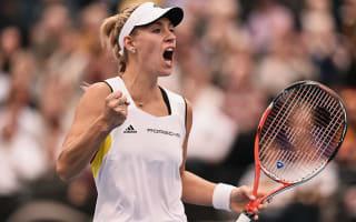 Radwanska, Kerber continue as Kvitova crashes out