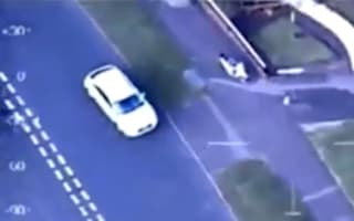 Video: 13-year-old biker leads police on 30-minute chase