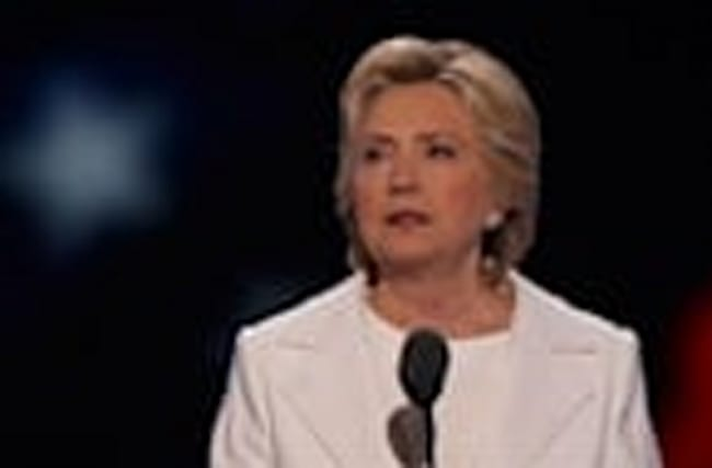 Clinton Says Trump Can't Be Trusted with Nukes