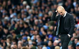 Guardiola blasts missed chances, not referee, after Spurs draw