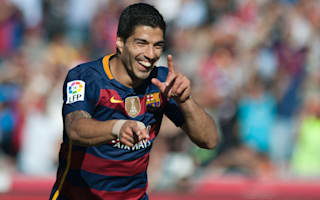 Suarez claims Pichichi prize to end Messi-Ronaldo dominance
