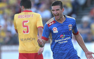 Central Coast Mariners 0 Newcastle Jets 1: Visitors win derby