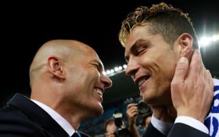 'Merci Zizou' - Ronaldo thanks Zidane for LaLiga title