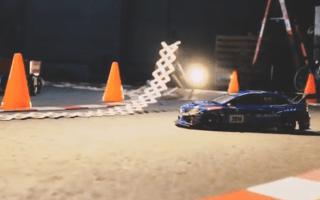 Video: RC Subaru WRX STI vs StickBomb