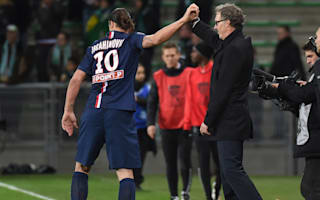 Ibrahimovic changed PSG - Blanc