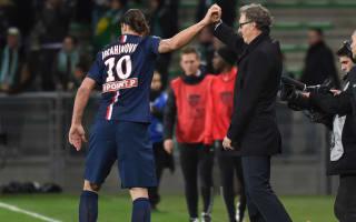 Ibrahimovic changed PSG - Blanc