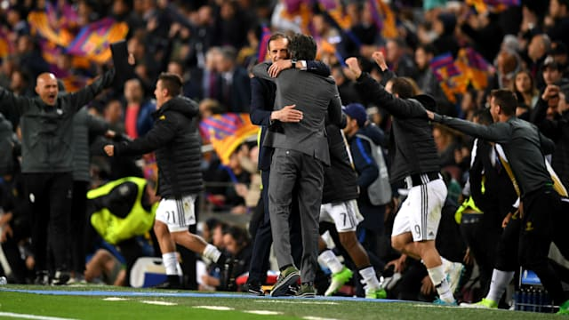 Juventus hold firm to knock out Barcelona