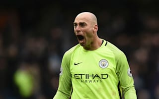 Scary and exciting - Manchester City's Caballero on being a Guardiola goalkeeper