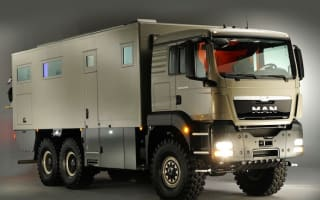 This camper-tank is perfect for warzone holidaymakers