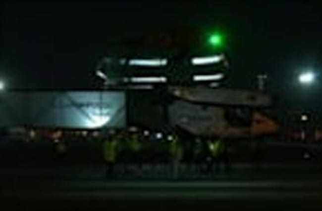 "Pilots prep for ""exhausting"" last leg of world solar flight"