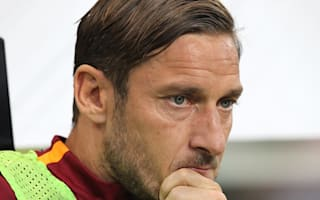There'll be time to talk - Totti not confirming retirement
