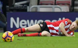 Watmore's season ended by injury