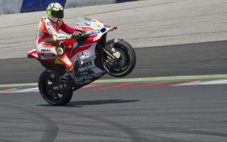 Iannone snatches pole, Marquez fifth despite smash