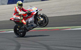 Iannone snatches pole, Marquez fifth despite smash