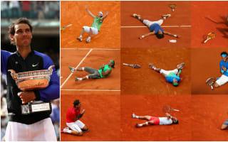 La Decima: How Nadal won 10 French Open titles