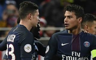 Dijon 1 Paris Saint-Germain 3: Silva and Cavani keep champions in touch